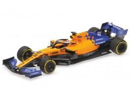 McLaren MCL34 Renault Formula 1 2019 Carlos Sainz Jr - Minichamps Escala 1:43 (537194355)