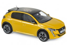 PEUGEOT 208 GT Line 2019 Yellow - Norev Scale 1:43 (472830)