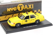 FORD Crown Victoria NYC Taxi 2011 - Greenlight Escala 1:43 (86164)