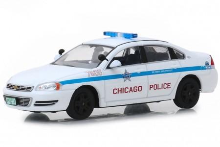 CHEVROLET Impala Policia Chicago 2010 - Greenlight Escala 1:43 (86166)