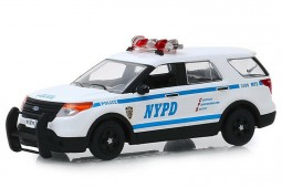 FORD Interceptor Policia NYPD 2013 - Greenlight Escala 1:43 (86167)