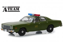 "PLYMOUTH Fury 1977 ""The A-Team (1983-87"")"" - Greenlight Scale 1:43 (86556)"