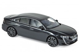 PEUGEOT 508 2018 Black - Norev Scale 1:43 (475823)