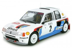 PEUGEOT 205 T16 Rally Monte Carlo 1985 A. Vatanen / T. Harryman - Ixo Scale 1:18 (18RMC020A)