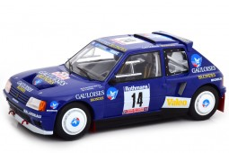 PEUGEOT 205 T16 Rally Tour de Corse 1985 B. Darniche / A Mahé - Triple 9 Scale 1:18 (T9-1800205)