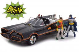 "BATMOBILE TV Series ""Batman (1966)"" Figures of Batman and Robin - With Illumintaion - Jada Scale 1:18 (98265)"