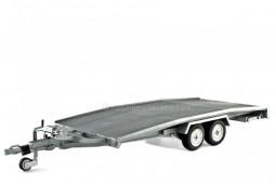 REMOLQUE Transporte Vehículos - Laudoracing Models Escala 1:18 (LM111)
