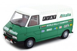 FIAT 242 Rally Assistance Lancia 1977 - Laudoracing Scale 1:18 (LM107A2)