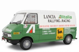 FIAT 242 Rally Assistance Lancia 1974 - Laudoracing Scale 1:18 (LM107A1)