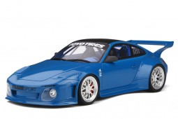 PORSCHE 911 (997) Old and New Body Kit 2016 Blue - GT Spirit Scale 1:18 (GT222)