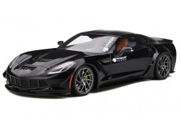 Chevrolet CORVETTE C7 Prior Design 2019 Black - GT Spirit Escala 1:18 (GT249)