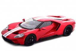 FORD GT 2017 Red / Silver - AutoArt Scale 1:18 (72943)