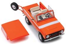 FORD Bronco 1977 Naranja - Greenlight Escala 1:18 (19058)