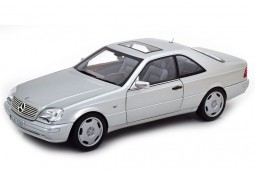 MERCEDES-Benz CL600 Coupe (C140) 1997 Silver - Norev Scale 1:18 (183446)