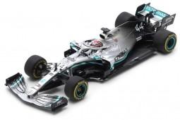 MERCEDES AMG W10 Campeon del Mundo F1 Ganador GP China 2019 L. Hamilton - Spark Escala 1:43 (s6071)