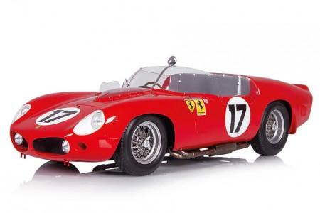 FERRARI 250 TRI/61 24h Le Mans 1961 P. Rodriguez / R. Rodriguez - Looksmart Escala 1:18 (LS18LM09)