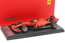 FERRARI SF90 3rd GP Formula 1 Sebastian Vettel - Looksmart Escala 1:43 (LSF1019)