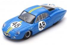 ALPINE M63 24h Le Mans 1963 J. Rosinski / C. Heins - Spark Escala 1:43 (s5482)
