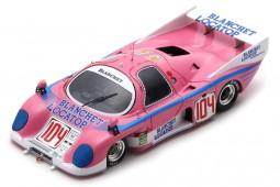 RONDEAU M379 C 24h Le Mans 1985 M. Dubois / H. Striebig / N. del Bello - Spark Scale 1:43 (s8451)