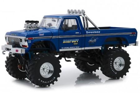 FORD USA F250 Pick-Up Bigfoot Monster Truck 1974 - Greenlight Escala 1:18 (13537)