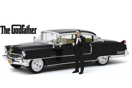 "CADILLAC Fleetwood Series 60 1955 ""El Padrino"" Incluye Figura - Greenlight Escala 1:18 (13531)"