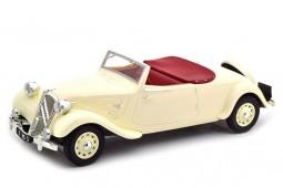 CITROEN Traction Avant 11b Cabriolet 1939 Crema - Norev Escala 1:18 (181440)