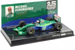 JORDAN 191 Debut F1 GP Spa 1991 Michael Schumacher - Minichamps Escala 1:43 (510914301)