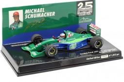 JORDAN 191 F1 Debut GP Spa 1991 Michael Schumacher - Minichamps Scale 1:43 (510914301)