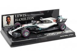 MERCEDES-AMG F1 World Champion GP Mexico 2018 L. Hamilton - Minichamps Scale 1:43 (417181944)