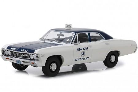 CHEVROLET Biscayne New York State Police 1967 - Greenlight Escala 1:18 (19054)