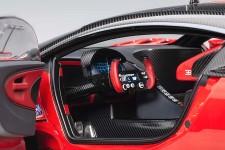 BUGATTI Vision GT 2015 Rojo/Carbono - AutoArt Escala 1:18 (70988)