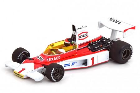 McLaren Ford M23 Ganador GP Great Britain 1975 Fittipaldi - Minichamps Escala 1:43 (530754301)