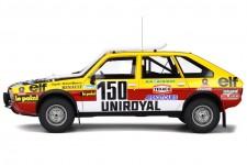 RENAULT Turbo 4x4 Ganador Rally Paris Dakar 1982 C. Marreau / B. Marreau - OttoMobile Escala 1:18 (OT821)