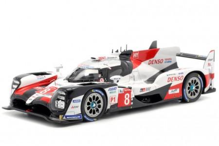 TOYOTA TS050 Ganador 24h Le Mans 2019 Buemi / Nakajima / Alonso - Spark Escala 1:43 (43LM19)