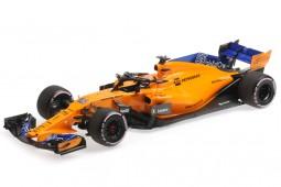 McLaren MCL33 Formula 1 Test Abu Dhabi 2018 Carlos Sainz JR - Minichamps Escala 1:18 (537183955)