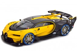 BUGATTI Vision GT 2015 Yellow / Carbon Black - AutoArt Escala 1:18 (70989)