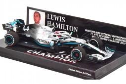 MERCEDES W10 World Champion F1 GP USA 2019 Lewis Hamilton - Minichamps Scale 1:43 (417191844)