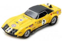 CHEVROLET CORVETTE 24h Le Mans 1970 Greder / Rouget - Spark Scale 1:43 (s2949)