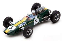 LOTUS 33 Campeon del Mundo F1 GP Great Britain 1965 Jim Clark - Spark Escala 1:43 (s7132)