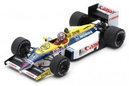 WILLIAMS FW11 Formula 1 Ganador GP Belgica Nigel Mansell - Spark Escala 1:43 (s7481)