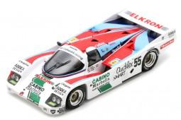 PORSCHE 962C 24h Le Mans 1986 Alliot / Romero / Trolle - Spark Escala 1:43 (s7510)