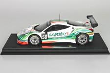 FERRARI 458 Italia GT3 Team Kaspersky 2015 - Incluye Vitrina - BBR Escala 1:18 (P18118KASP17)