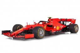 FERRARI SF90 GP 1000th F1 China 2019 S. Vettel - Incluye Vitrina - Looksmart Escala 1:18 (LSF18F1019)