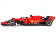 FERRARI SF90 GP 1000th F1 China 2019 S. Vettel - Incluye Vitrina - Looksmart Escala 1:18 (LSF18F1019)