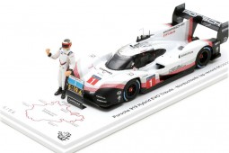 PORSCHE 919 Hybrid Evo Lap Record Nurburgring 2018 T. Bernard - Spark Escala 1:43 (s5847)