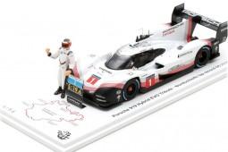 PORSCHE 919 Hybrid Evo Lap Record Nurburgring 2018 T. Bernard - Spark Scale 1:43 (s5847)