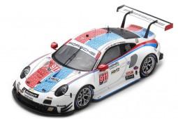 PORSCHE 911 (991) RSR Ganador GTLM 12h Sebring 2019 Pilet / Tandy / Makowiecki - Spark Escala 1:43 (US080)