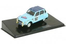 CITROEN Dyane 6 Rally Monte Carlo 1976 M. Peyret / J-J. Cornelli - Ixo Escala 1:43 (RAC053)
