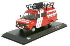 FORD Transit MK 2 Service Transporter RED 1985 - Ixo Models Escala 1:43 (RAC281X)