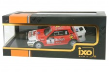 TOYOTA Celica Twincam Turbo Rally Haspengow 1985 J. Kankkunen / F. Gallagher - Ixo Scale 1:43 (RAC282)